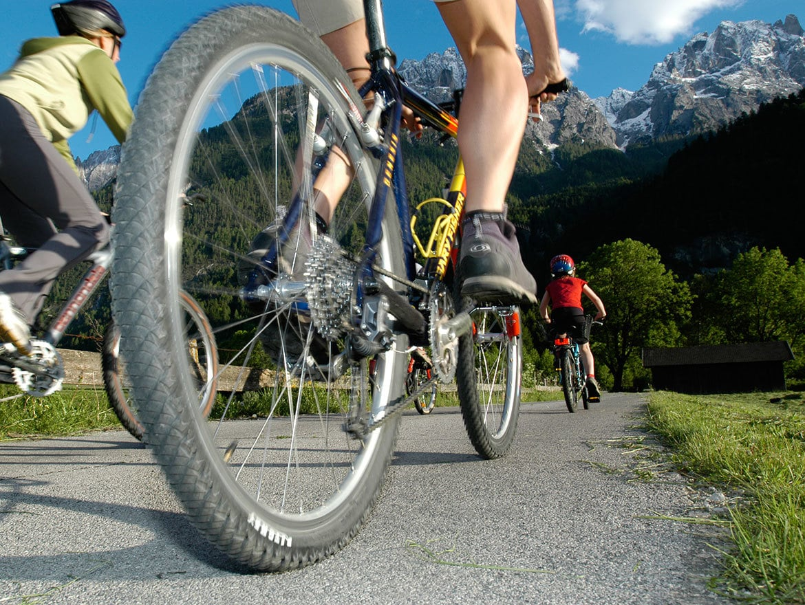 Sillian-Lienz by bike